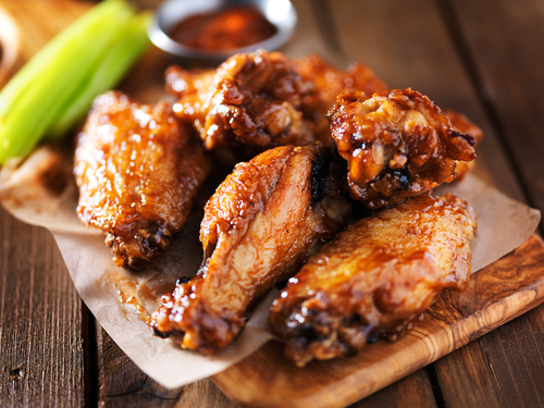 Healthy Super Bowl Snacks Chicken Wings